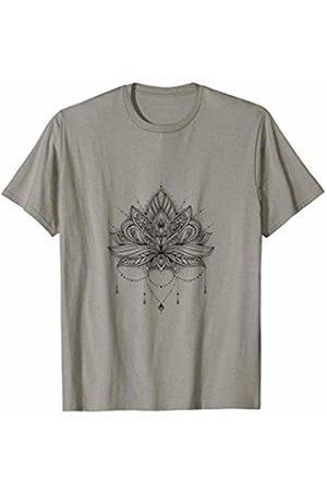 Dancing Spirits Necklaces - Mandala Lotus Flower Elegant Tattoo & Necklace T-Shirt