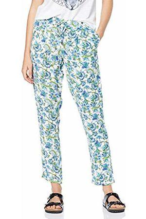 Rich & Royal Women's Printed Pants Trouser, ( 100)