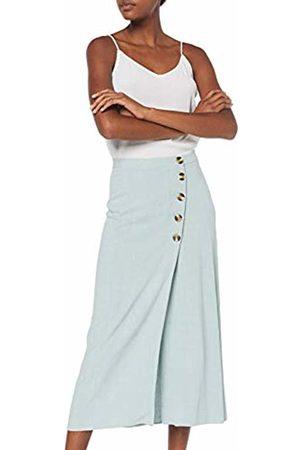 New Look Women's Bermuda Button Skirt