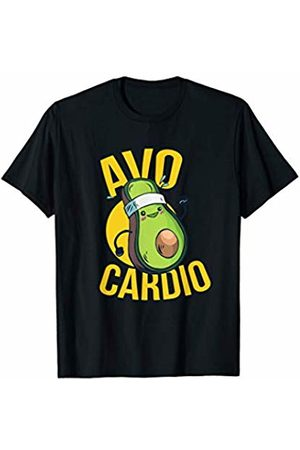 Avocado cardio funny workout shirts Avo Cardio - Funny Workout Graphic T-Shirt