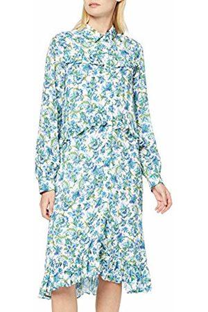 Rich & Royal Women's Printed Midi Dress ( 100)