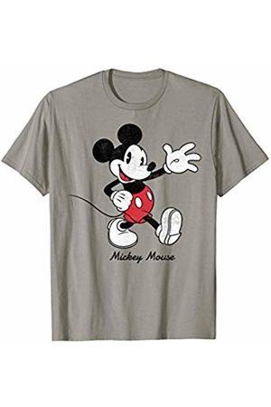 Disney Mickey Mouse Waving Portrait Graphic T-Shirt