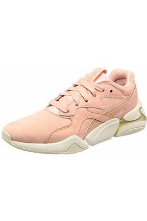 Puma Women's Nova Pastel Grunge WN's Low-Top Sneakers, Peach Bud