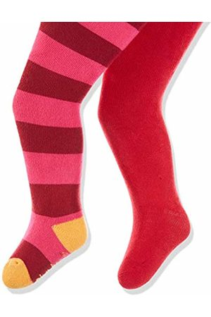 Playshoes Baby Frottee Thermo-strumpfhosen Block-ringel Tights