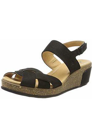 El Naturalista Women's N5008 Pleasant /Leaves Sling Back Sandals