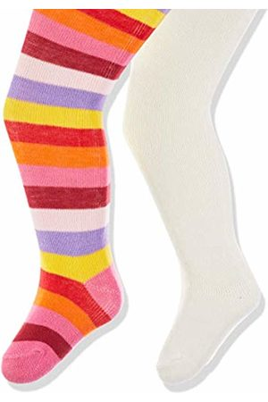 Playshoes Baby Girls' Ringel und Uni mit Komfortbund Tights