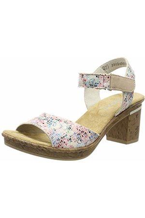 Rieker Women's V4589-90 Platform Sandals 4 UK