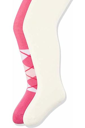 Playshoes Baby Girls' Kariert Und Uni Mit Komfortbund Tights