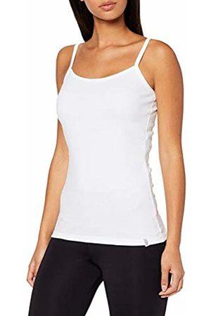 Trigema Women's Damen Spaghetti-Träger-Shirt Tank Top, (weiß 001)
