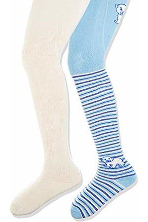 Pack of 2 Playshoes Baby Elastische Thermo-strumpfhosen Eisb/är Mit Komfortbund Tights,