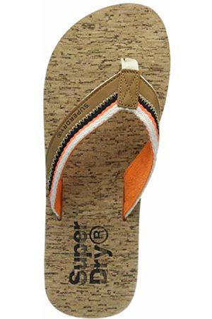 Superdry Men's Roller Flip Flop (Tan/ /Linear Cork W2u)