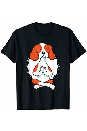 Dog yoga fun t-shirts Cute dog meditating yoga - Fun Graphic T-Shirt