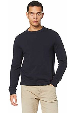 HUGO BOSS Men's Walkup Sweatshirt, (Dark 404)
