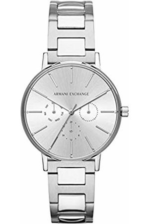 Armani Womens Analogue Quartz Watch with Stainless Steel Strap AX5551