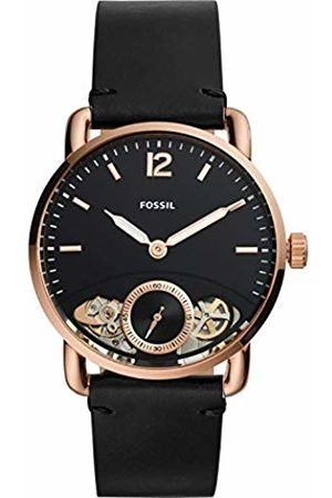 Fossil Mens Analogue Quartz Watch with Leather Strap ME1168