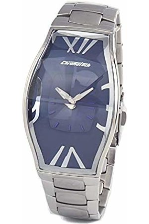 ChronoTech Mens Analogue Quartz Watch with Stainless Steel Strap CT7932M-03M