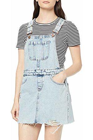 New Look Women's Acid Dungaree Dress