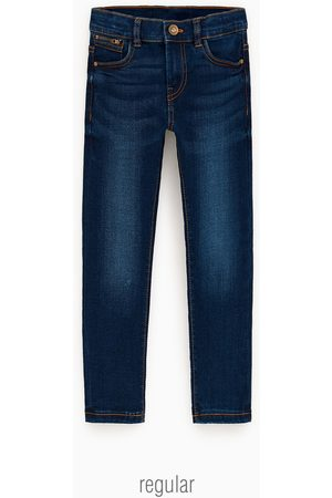 Image 1 of JEANS WITH SHINY STAR APPLIQUÉS from Zara