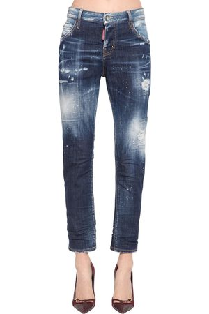 Dsquared2 Girls Trousers - Cool Girl Cotton Denim Pants