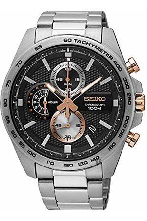 Seiko Men's Chronograph Quartz Watch with Stainless Steel Strap SSB281P1