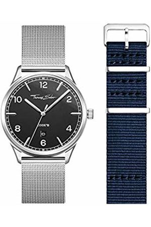 Thomas Sabo Unisex Adult Analogue Quartz Watch with Stainless Steel Strap LOOK19_02_014