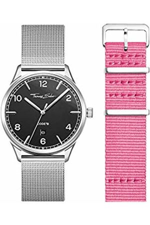 Thomas Sabo Unisex Adult Analogue Quartz Watch with Stainless Steel Strap LOOK19_02_008