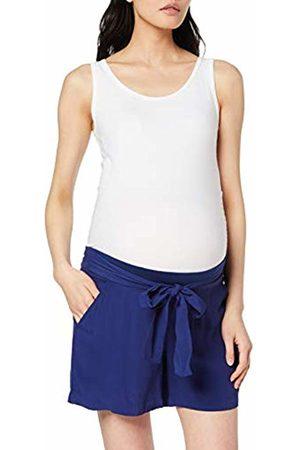 Esprit Women's Bermuda Utb Maternity Shorts, (Dark 405)