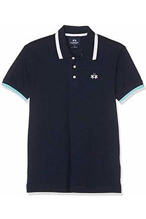 La Martina Men Polo Shirts - Men's Man Polo S/s Piquet Stretch Shirt