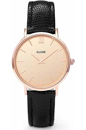 Cluse Womens Analogue Classic Quartz Connected Wrist Watch with Leather Strap CL30051