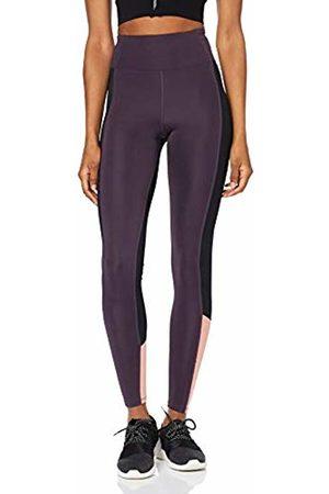 AURIQUE BAL1042 Gym Leggings Women, ( /Nightshade/Rosette)