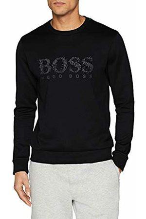 HUGO BOSS Men's Salbo Iconic Sweatshirt, ( 001)