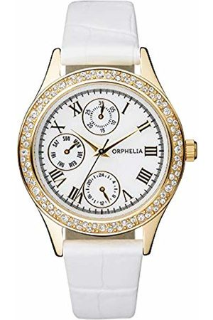 ORPHELIA Women's Quartz Watch Analogue Display and Leather Strap OR22173011