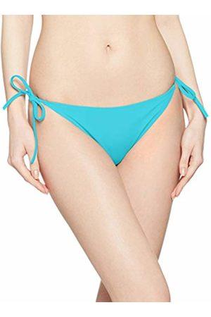 Calvin Klein Women's Cheeky String Side Tie Bikini Bottoms, ( Radiance 480)