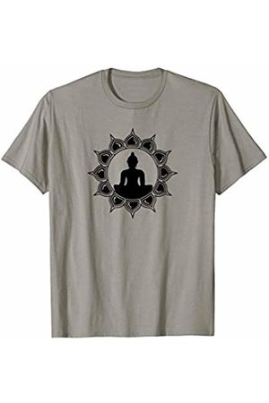 SPIRITUAL SIGNS AND SYMBOLS by yuma Buddha Lotus Meditation Heart Chakra Awareness Zen Om Shirt