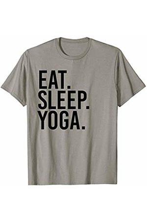 Eat Sleep Yoga Shirts for Yoga Exercise Workouts Eat Sleep Yoga T-Shirt