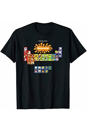 Nickelodeon Periodic Table With All Characters T-Shirt