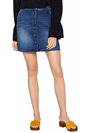 Esprit Women's 059ee1d012 Skirt, Medium Wash 902
