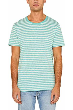 Esprit Men's 029cc2k036 T-Shirt, (Aqua 380)