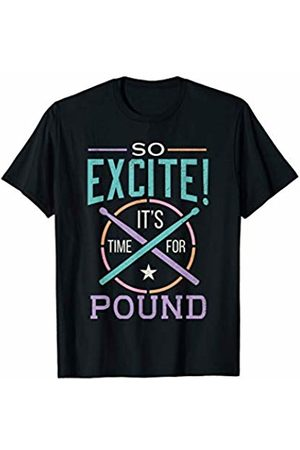 Drum Stick Workout Club T-shirts - Drum Stick Workout Shirt Pounding Class Time For Pound T-Shirt