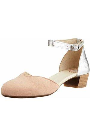 Fly London Women's LOGI459FLY Ankle Strap Heels, (Nude / 002)