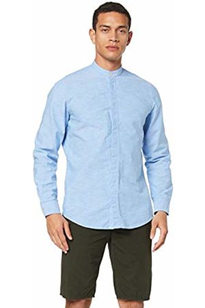 HUGO BOSS Men's Race Casual Shirt, (Open 460)
