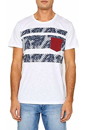 Esprit Men's 059cc2k010 T-Shirt, ( 100)