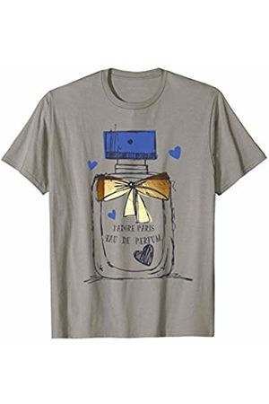 Paris France Sightseeing France Vintage Julib Tees Paris Eau de Parfum Perfume Bottle French No.1 Souvenir Gift T-Shirt