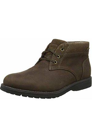 Hush Puppies Men's Beauceron Plain Toe Chukka Boots, (Dark 000)