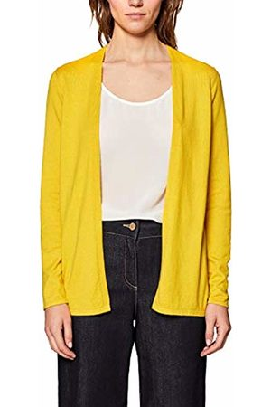 Esprit Women's 049ee1i004 Cardigan, (Sunflower 5 734)