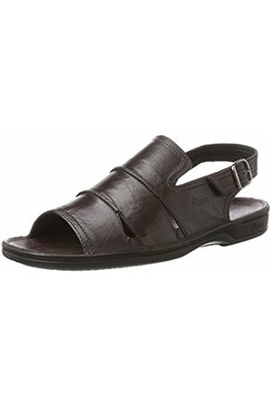 Sioux Men's 30611 Open Toe Sandals Brown Size: 40 2/3
