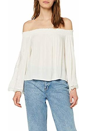 Miss Selfridge Women's Ivory Cutwork Sleeve Bardot Top Tank, 200