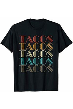 Merchalize Retro Vintage Tacos Tuesday Mexican Food Party Funny Gift T-Shirt