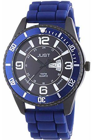 Just Watches Men's Quartz Watch 48-S10734-DBL with Plastic Strap