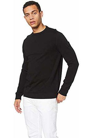 HUGO BOSS Men's Walkup Sweatshirt, ( 001)
